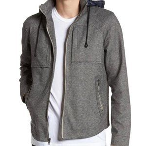 Tunellus Men's Jacket Woven Zip Up Hooded